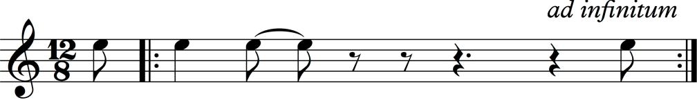ritmo tórtola