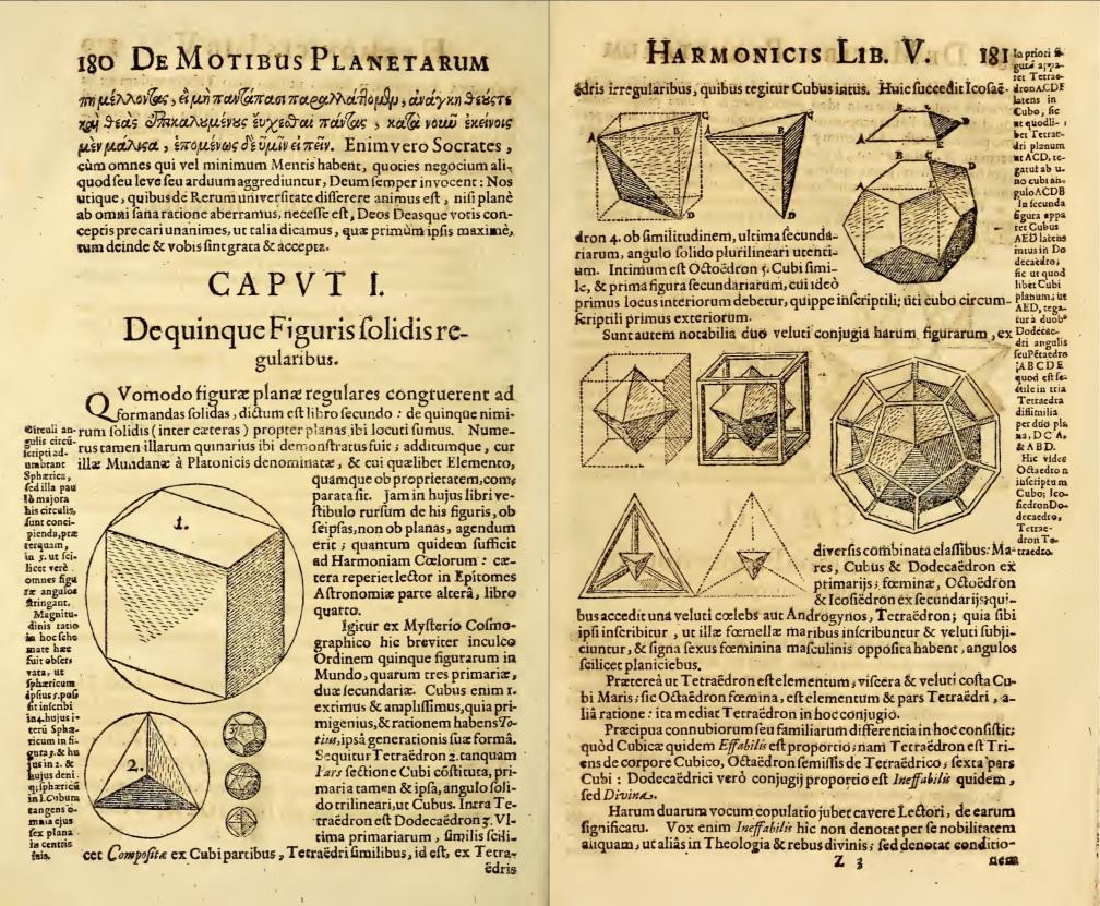 Kepler Hamonices Mundi