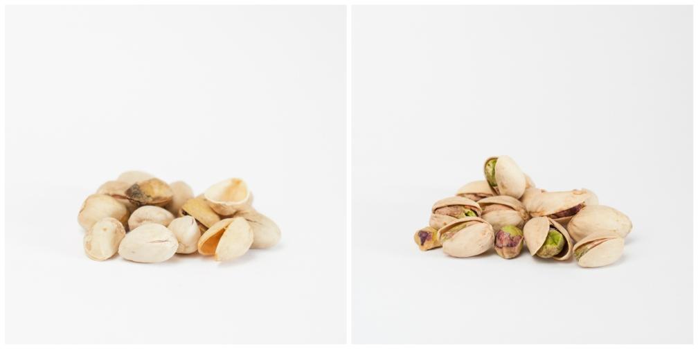 Decepciones y alegrías en un paquete de pistachos
